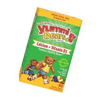 Yummi Bears Vegetarian Calcium + Vitamin D3 Gummy Vitamin