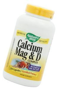 Bronson Calcium, Magnesium & Vitamin D, 250 Tablets