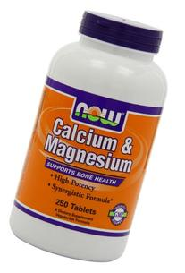 Now Foods Calcium & Magnesium,   250 Tablets