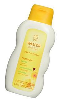 WELEDA Calendula Baby Oil, 6.8 Ounce