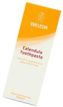 Weleda Calendula Toothpaste, Peppermint-Free - 2.5 oz