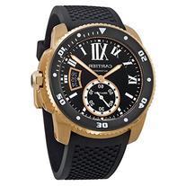 Cartier Calibre de Cartier Diver Automatic Black Dial Rubber