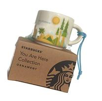 California Starbucks You Are Here Ornament Rare 2oz Espresso