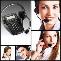 AGPtek Handsfree Call Center Dialpad Corded Telephone #