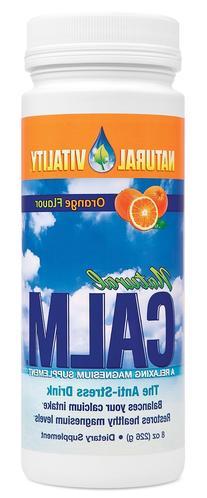 Natural Vitality Natural Calm Anti-Stress Drink Orange 16oz