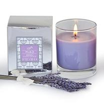 Manu Home CALM Lavender Scented Aromatherapy Candle ~ Made