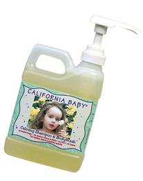 California Baby Calming Baby Shampoo and Body Wash, 17.5-