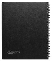 Cambridge Business Notebook with Pocket, Hardbound, 8-1/4 x