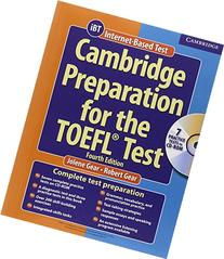 Cambridge Preparation For The Toefl Test Book & Cd Rom