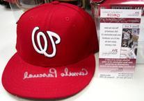 Camilo Pascual Washington Senators Signed Baseball Hat W/jsa