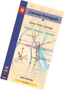 Camino Portugues Karte.John Brierley Books Searchub