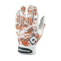 DeMarini Digital Camoflague Batting Glove, Orange, Small