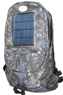 Solar Wholesale 6003 Camouflage Solar Backpack and Cell