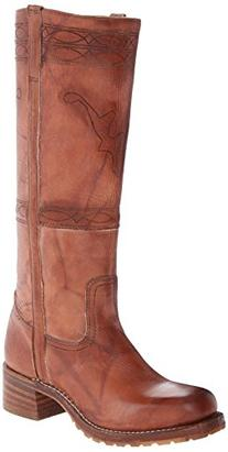 FRYE Women's Campus Stitching Horse Riding Boot, Saddle