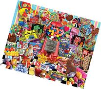 White Mountain Puzzles Candy for All Seasons - 1000 Piece