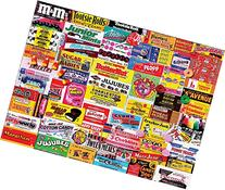 White Mountain Puzzles Candy Wrappers - 1000 Piece Jigsaw