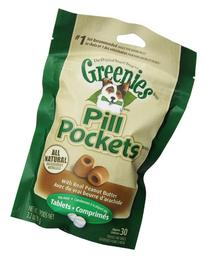 Greenies 30-Piece Canine Dog Treat with Pill Pocket for
