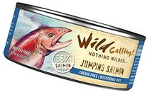 Wild Calling Canned Cat Food - Jumping Salmon 96% Salmon - 5.5 oz - 24 ct