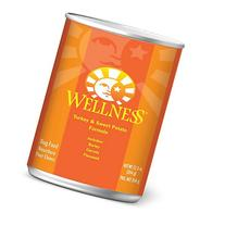 Wellness Complete Health Natural Wet Canned Dog Food, Turkey
