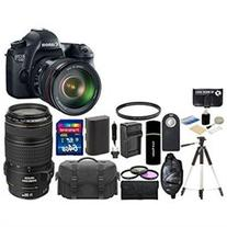 Canon EOS 6D 20.2MP CMOS Digital SLR Camera with 3.0 Inch LCD EF 24 105mm f 4L IS USM Lens with Ca