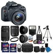 Canon EOS Rebel SL1 18.0 MP CMOS Digital SLR with EF S 18
