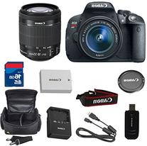 Canon EOS Rebel T5i 18.0 MP CMOS Digital SLR Camera + 18-