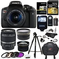 Ritz Camera Canon EOS Rebel T6i 24.2 MP SLR Camera Bundle