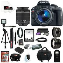Canon EOS Rebel SL1 18MP Digital SLR with 18-55mm EF-S IS
