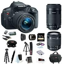 Canon EOS Rebel T5i 18.0 MP CMOS Digital Camera with EF-S 18