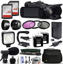 """Canon XA25 HD Video Camcorder with 2X 64GB SD Card, 72"""""""
