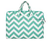 Mosiso Chevron Style Fabric Sleeve Case Cover Bag with