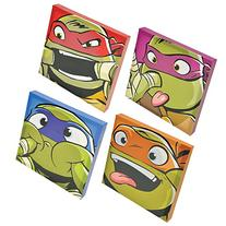 Ninja Turtles Canvas Wall Art, 4pk