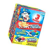 Cap'n Crunch Sweetened Corn & Oat Cereal, Variety Pack