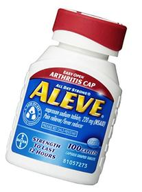 Aleve Aleve Caplets Easy Open Arthritis Cap, 100 caplets