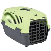 Trixie Capri I Hard Shell Pet Carrier in Dark Green/pastel