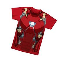Captain America Civil War Iron Man Suit Costume Shirt