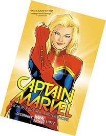Captain Marvel Volume 1: Higher, Further, Faster, More