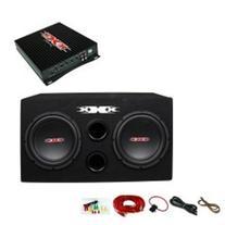 """XXX XBX-1200 12"""" 1200W Car Subwoofers Subs/Amplifier/Amp Kit"""