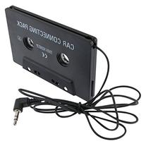 Insten Car Cassette for iPod/Zune MP3/CD Tape Deck Adapter