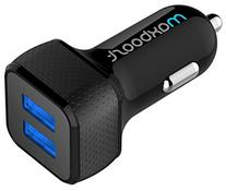 Car Charger, Maxboost 4.8A/24W 2 Smart Port Car Charger  for