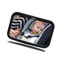 KMASHI Baby Car Mirror Back Seat Mirror Wide Convex