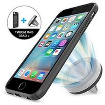 Car Mount, Maxboost iPhone Car mount iPhone 66S Case -