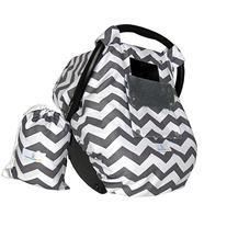 Baby Car Seat Covers for Girls and Boys, Infant Canopy WITH