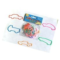 48 Pieces of Car Shaped Silicone Silly Bands