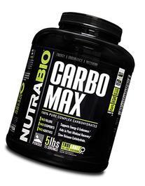 NutraBio CarboMax Maltodextrin - NON-GMO - Unflavored -5