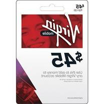 Virgin Mobile $45 Refill Card