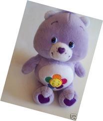 "Care Bears 10"" Harmony Bear Plush 2002"