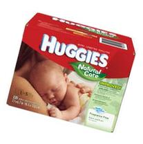 Huggies Natural Care Refill Baby Wipes, 320 Count