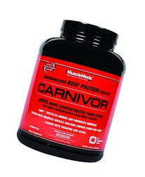 MuscleMeds Carnivor Beef Protein Isolate Powder, Chocolate,