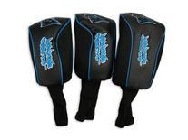 NFL McArthur Carolina Panthers Black Three-Pack Golf Club
